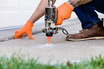 Contact Sentry Concrete Solutions for Concrete Leveling